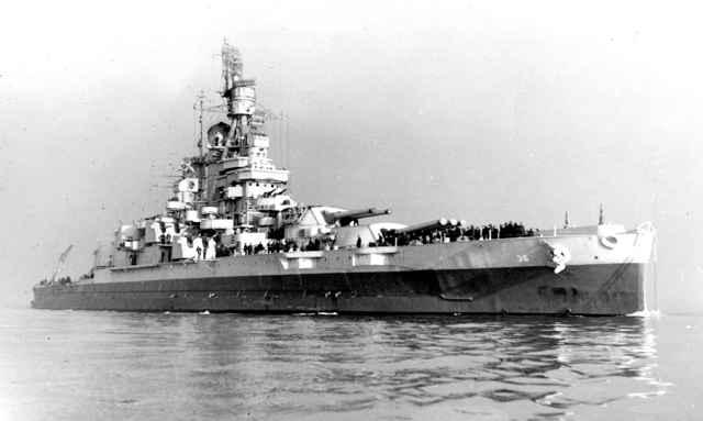 acorazado USS Nevada