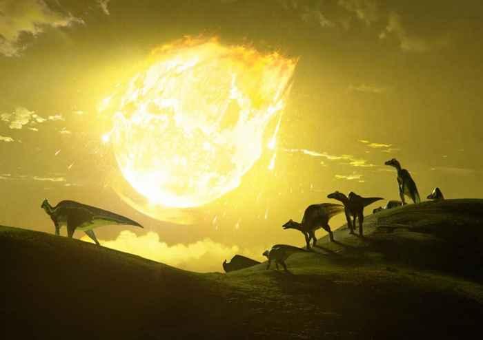 impacto del asteroide que mató a los dinosaurios