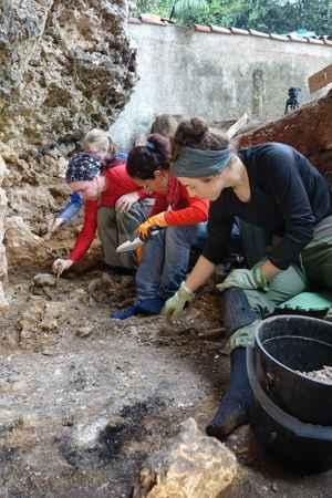 excavación en Canimar Abajo, Cuba