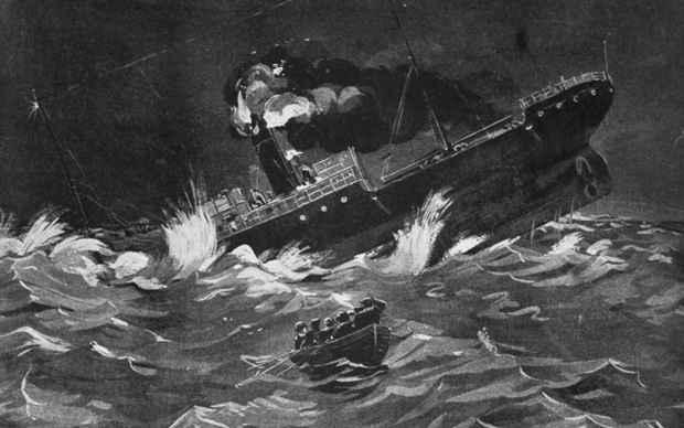 naufragio del SS Ventnor