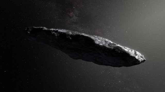 cometa Oumuamua