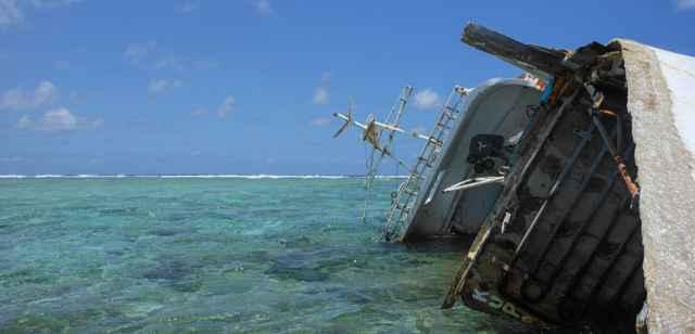 naufragio de un palangrero en Saint Brandon