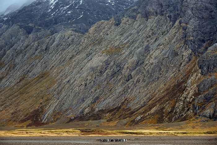península Rallier du Baty en las islas Kerguelen
