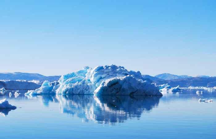 derretimiento de hielo en Groenlandia