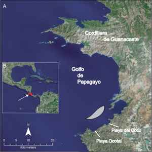 golfo del Papagayo, Costa Rica
