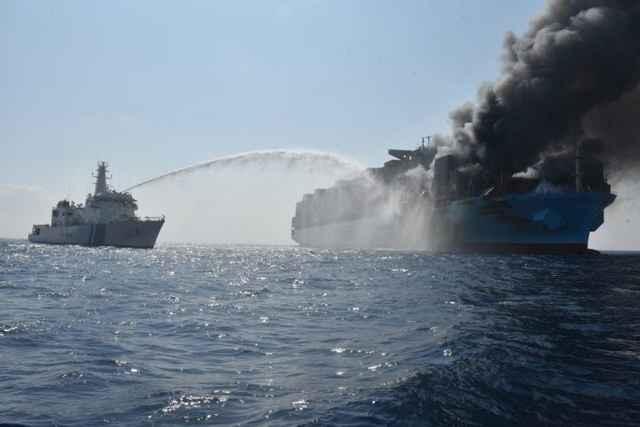 incendio del Maersk Honam