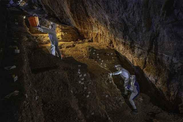 cueva de Chiquihuite, México