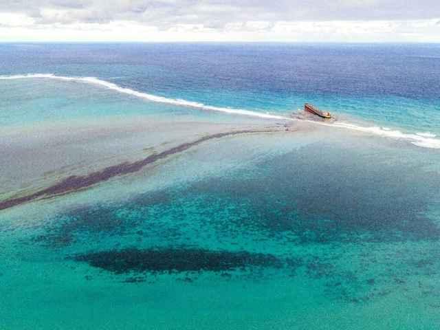 derrame de petróleo en Mauricio
