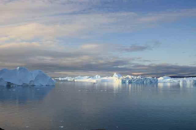 glaciar Jakobshavn Isbræ de Groenlandia