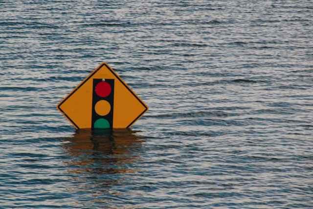 inundación costera