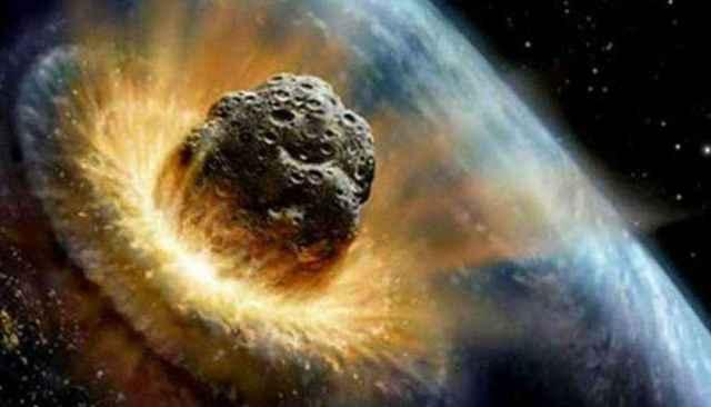 impacto de un gran meteorito