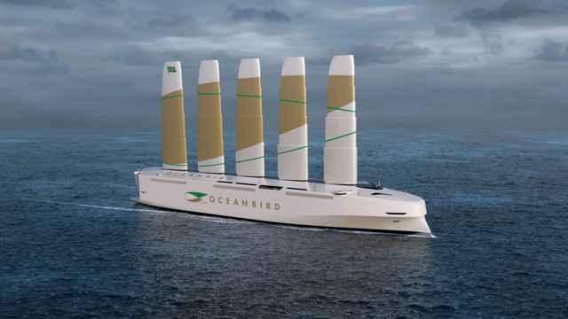 barco a velas Oceanbird