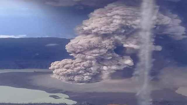 erupción de Ambae, Vanuatu