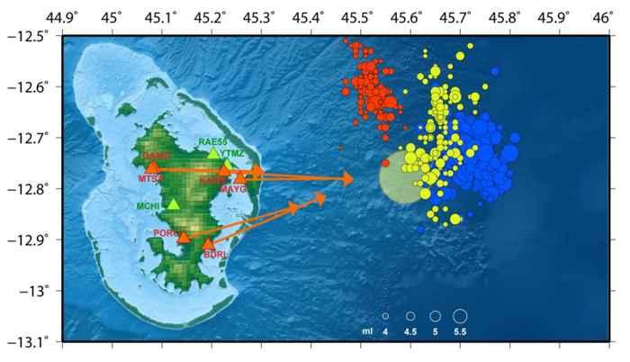 isla de Mayotte, deflación