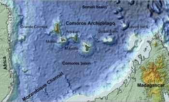 isla de Mayotte, situación