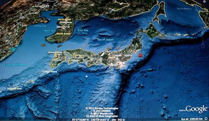 terremoto de Tohoku 2011