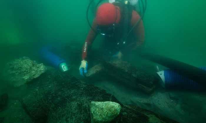 excavación del barco 17 (baris)