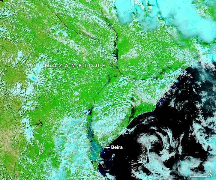 Mozambique después del ciclón tropical Idai