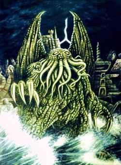deidad Cthulhu, de Howard Phillips Lovecraft