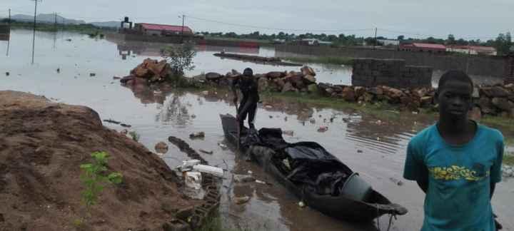inundaciones en Mozambique