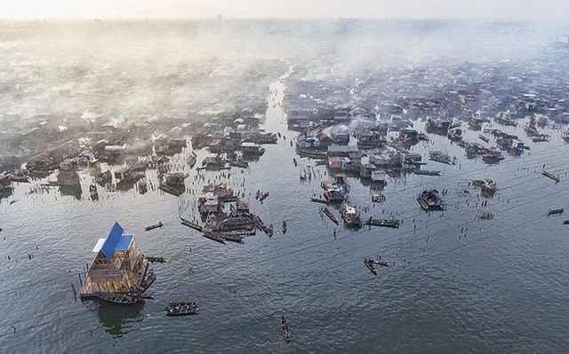 barrio de Makoko, Nigeria