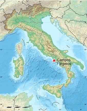 Campi Flegrei, Italia