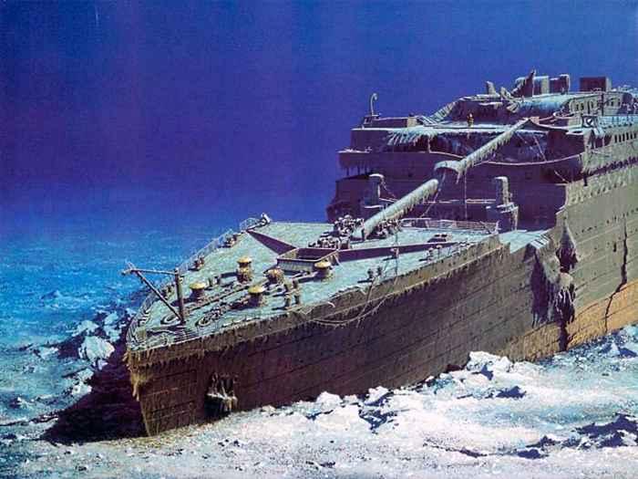 pecio del Titanic