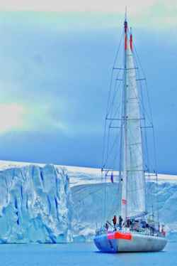 velero Tara en el Ártico