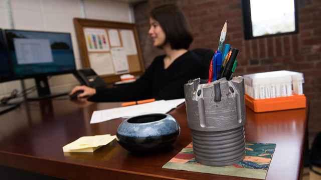 escritorio de Clara Blattler
