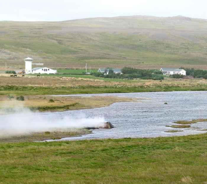 Géiser Vellir en Islandia