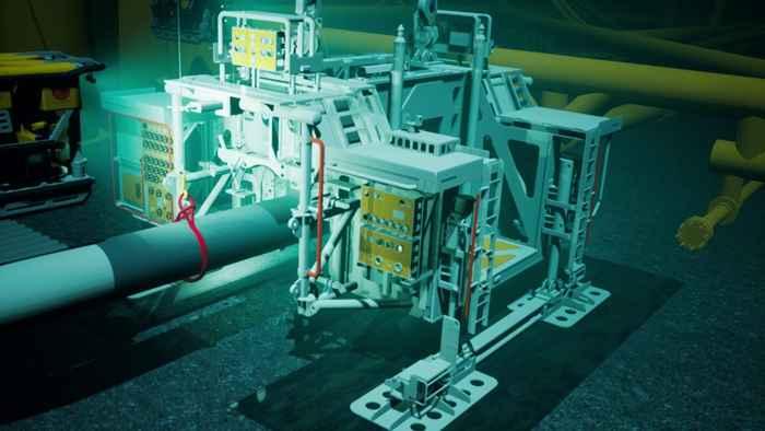 enlace hiperbárico submarino