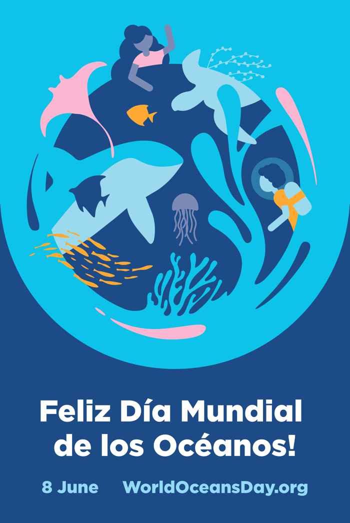feliz Día Mundial de los Océanos