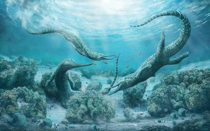 fitosaurios del Triasico (Mystriosuchus steinbergeri)
