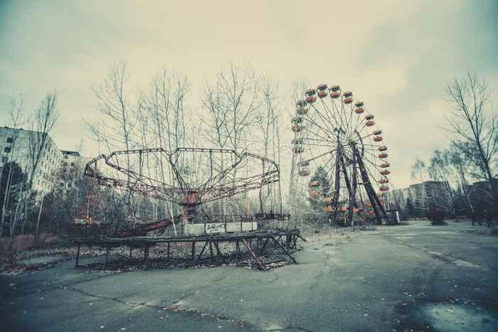 zona de exclusión de Chernobyl