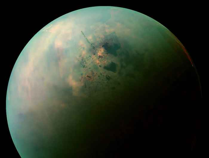 Titán, la luna de Saturno
