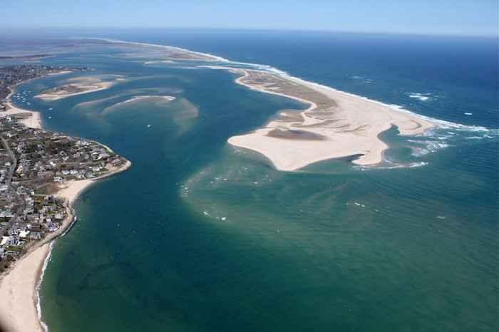 acuífero de agua dulce en la costa de EE.UU.