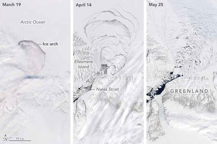 arco de hielo de Groenlandia