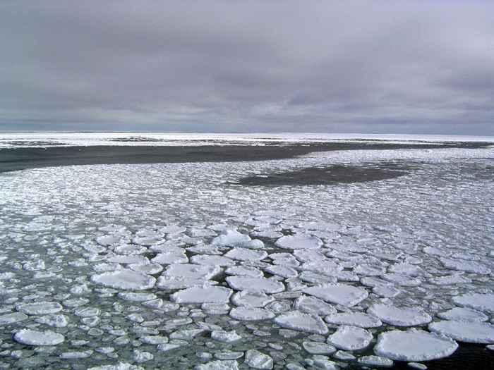 hielo marino en el Mar de Ross