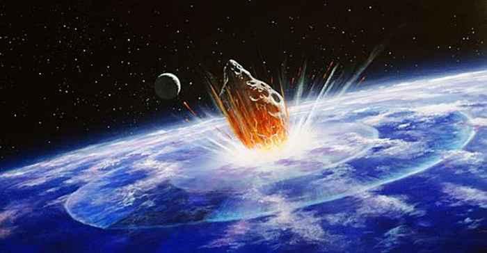 impacto del meteorito que acabó con los dinosaurios