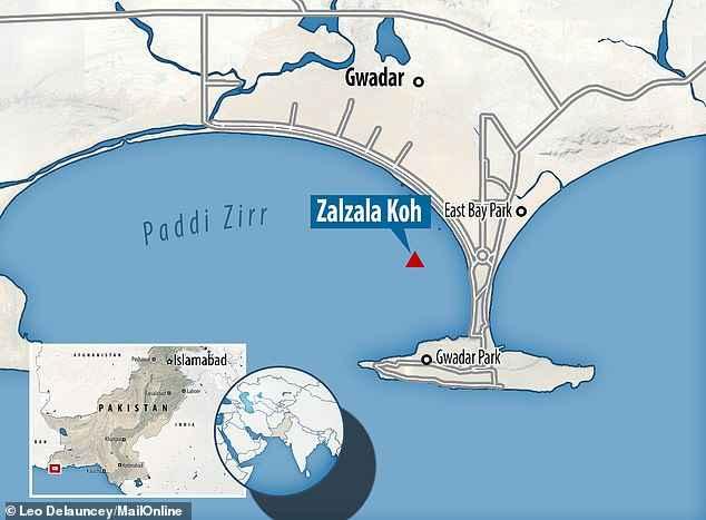 isla de Zalzala Koh