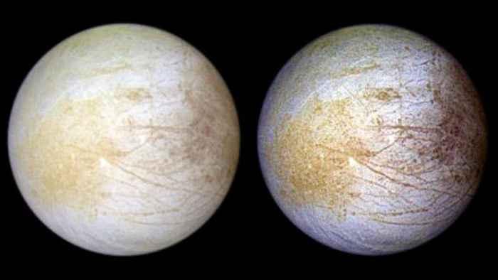 sal en Tara Regio de la luna Europa