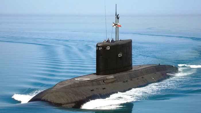 submarino diésel de ataque ruso