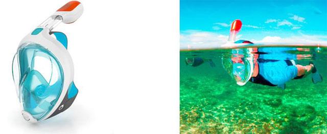 máscara de snorkel Easybreath