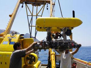 vehículo submarino Girona 500