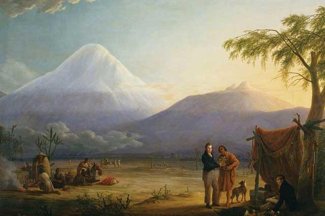 Humboldt en los Andes