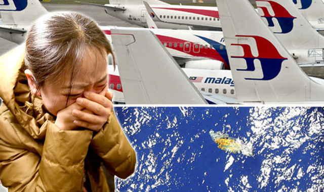 posibles escombros del vuelo MH370