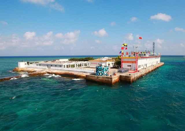 asentamiento militar chino en Spratly Islands
