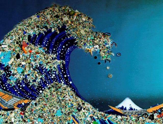 parches de basura marina NASA