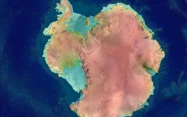 capa de hielo de la Antártida oriental