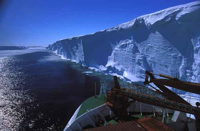 capa de hielo de la Antártida